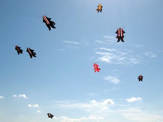 cerf volant mengwi